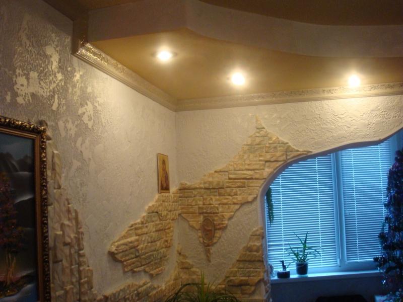 Декоративный камень в интерьере (100) 58